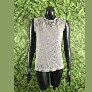 Silver Jeans Co. Gray Tank Top Size Large